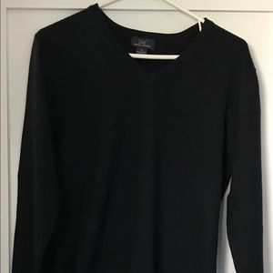 Brooks Brothers Men's Small 346 Navy Sweater